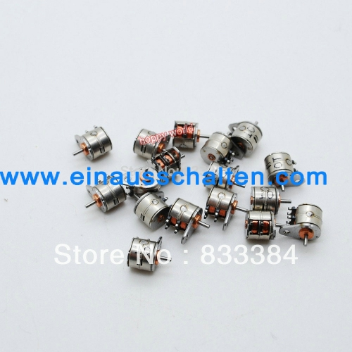 5pcs Mikro schrittmotor 2 Phase 4 Drahtdurchmesser 15mm schrittmotor ...
