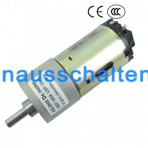 DC12-120V 0.8-1000RPM JGB37-3658 High Torque DC Gear Motor with Gearbox for DIY
