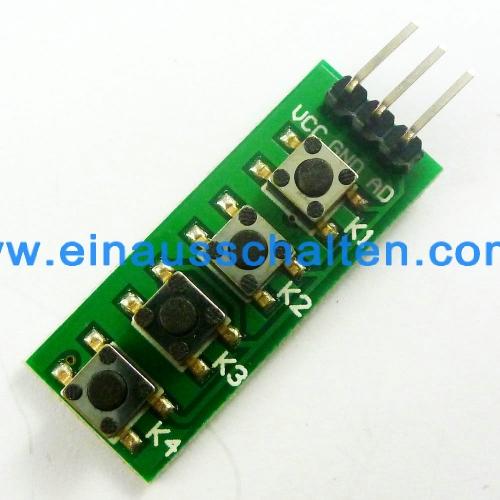 DC 12V 4ch MT8870 DTMF Sound signal Audio decoding relay Mobile