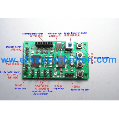 4-6V DC Mikroschrittmotor Steuerung-Treiber 2-Phasen-4-Draht-6-Draht ...