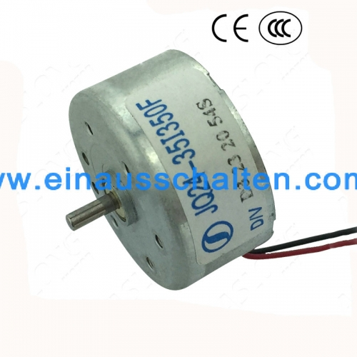 DC1.5-6.5V 3500RPM high speed Motor DC Auto-CD-Player Solar-Speed-Motor Hochdrehmoment Welledurchmesser 2mm