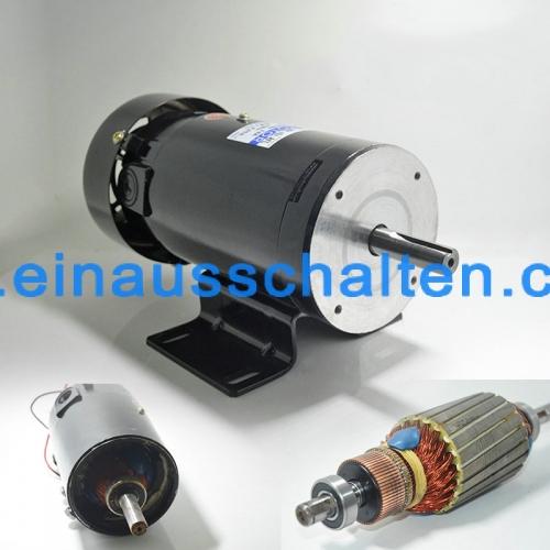500W DC glatte Welle Geschwindigkeit Permanentmagnetmotor regelbar ...