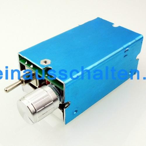 12 V 40 V DC Motor Drehzahlregler PWM Geschwindigkeit Einstellbar