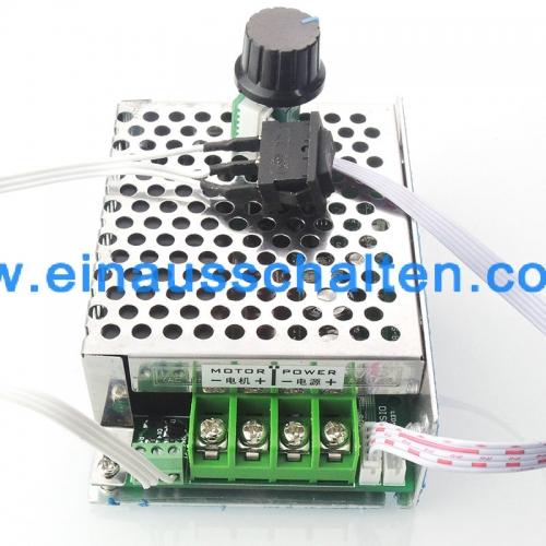 PWM DC-Motor Drehzahlregler 12V24V36V40A High-Power Drehzahlregelung ...