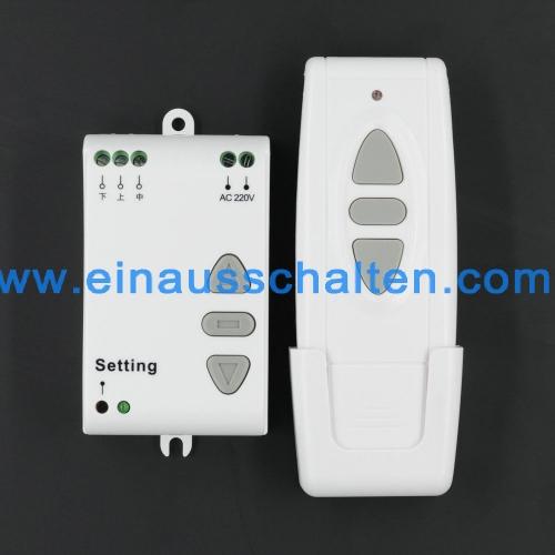 AC 220V Motor Ansteuerung Funk Wireless Fernbedienung Schalter UP ...