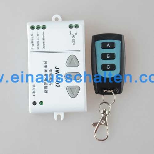 AC 220V Motor RF Wireless Fernbedienung Schalter 220V UP & DOWN Fernbedienung Motor Vorwärts Reversing Remote Switch 315 / 433MHZ