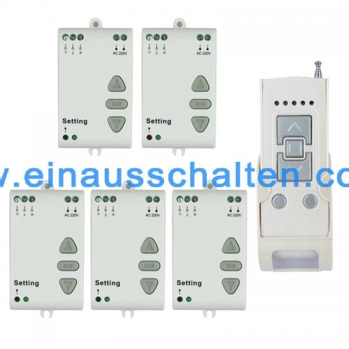 AC 220V Motor RF Wireless Fernbedienung Schalter Funksystem, 315MHZ ...