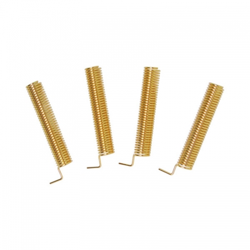 10pcs Antenne Golden Color 315MHz Antenna Spring Antenna 2.15dBi spring antenna Helical-Antenne für Arduino Raspberry Pi