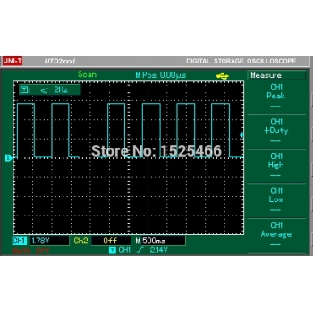 1-10kHz Duty Cycle & Frequency Adjustable PWM Square Wave