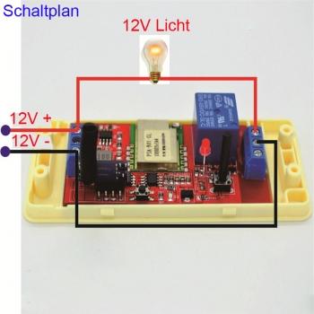 dc7 24v wlan schalter licht steuerung mit sender iphone android smartphone handy wlan schalter. Black Bedroom Furniture Sets. Home Design Ideas