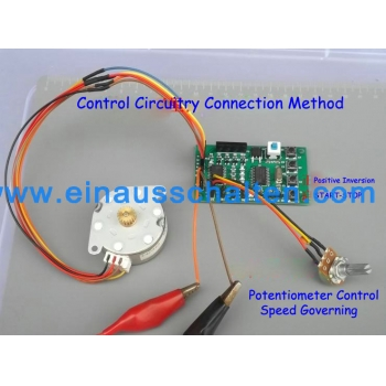 2-phase 4-phase 5-wire schrittmotor Motor DC 5-12V Driver Board Speed Controller