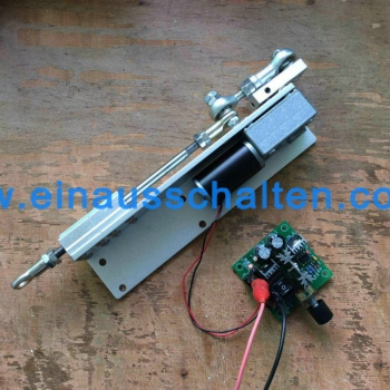 350 rpm, 12 Volt DIY Hubkolben Linearantrieb 12 V 24 V DC Getriebemotor mit Hub 30mm 50mm 70mm f/ür DIY Design