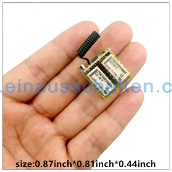 RF mini 2 Relay Long Range Wireless Remote Control Switch